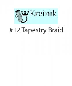 Kreinik #12 Tapestry Braid