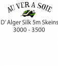 Au Ver a Soie D' Alger silk thread